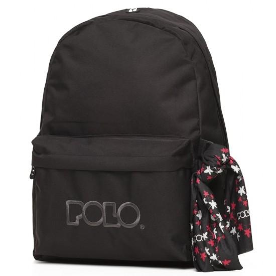 Τσάντα POLO Original Scarf 2020 Μαύρη 9-01-135-02