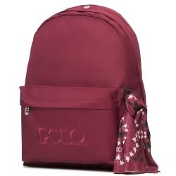 Τσάντα POLO Original Scarf 2020 Κόκκινο Γκρενά 9-01-135-35