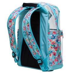 Τσάντα POLO QUEENOX 2020 Transparent Flowers 9-01-273-8038