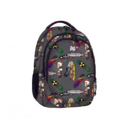 Σακίδιο LYC ONE SK8 GREY LINE BACKPACK LO92428