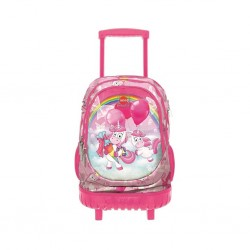 Τσάντα Τρόλεϊ LYCSAC UNICORNS LINE TROLLEY BAG LP91247