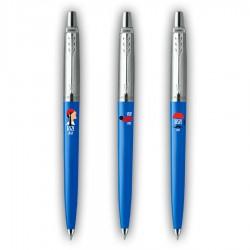 Σετ τριών επετειακών στυλό Parker Jotter 1821-2021 σε γαλάζιο χρώμα