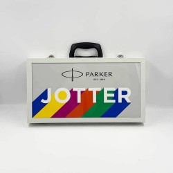 Συλλεκτική Κασετίνα - Βαλίτσα Parker Jotter Originals Rainbow Project