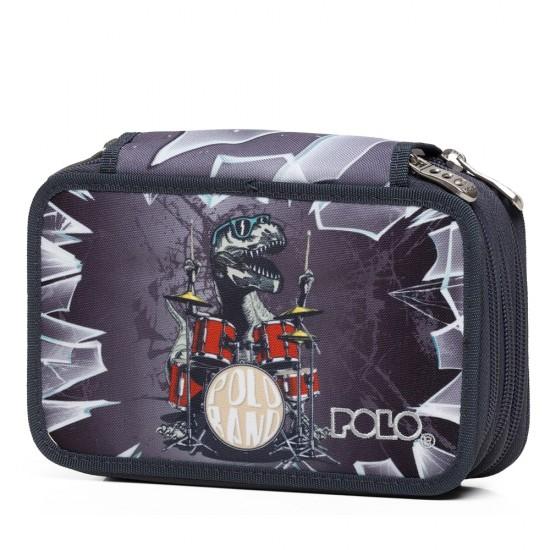 Κασετίνα POLO Rollet 2020 Dino Drummer 9-37-265-8006