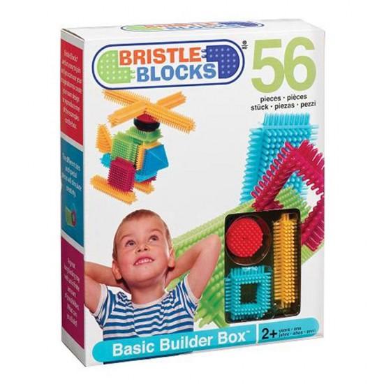 B. Bristle Blocks Σφηνοτουβλάκια 56 τεμάχια