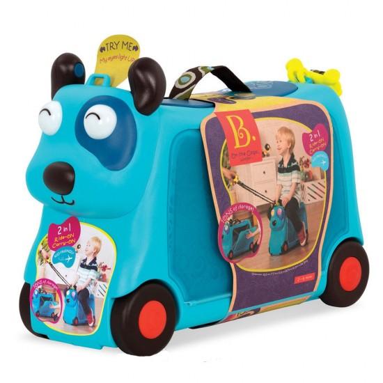 B.Toys Παιδική Βαλίτσα Ταξιδίου 'Σκυλάκι' με φωτιζόμενα μάτια