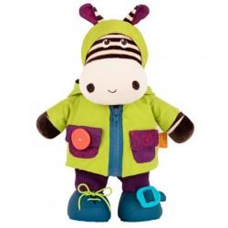 B.Toys Ζέβρα εκμάθησης ντυσίματος που γελάει 38 εκ.