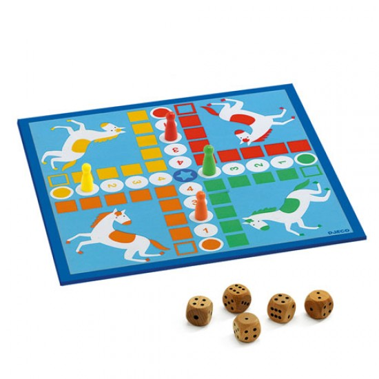 Djeco Επιτραπέζια 12 κλασικά παιχνίδια