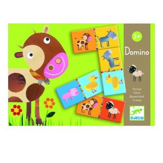 Djeco Ντόμινο 'μαθαίνω τα ζώα'
