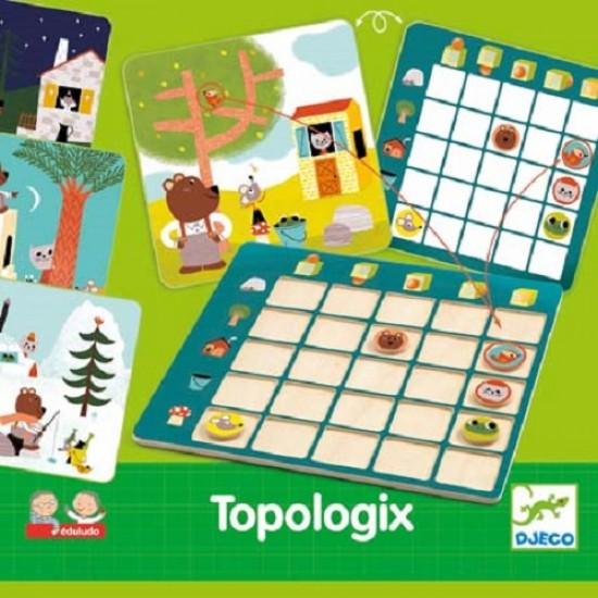 Djeco Topologix εκπαιδευτικό παιχνίδι