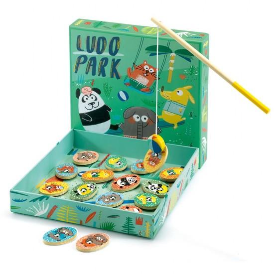Djeco Γκρινιάρης 4 παιχνίδια με ψάρεμα