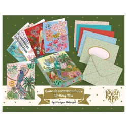Djeco Σετ 10 Κάρτες Ευχών σε κουτί 'Martyna'