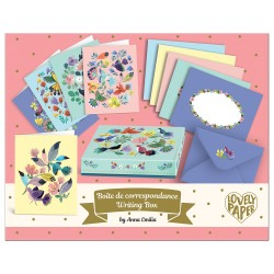 Djeco Σετ 10 Κάρτες Ευχών σε κουτί 'Emilia'