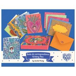 Djeco Σετ 10 Κάρτες Ευχών σε κουτί 'Aurelia'