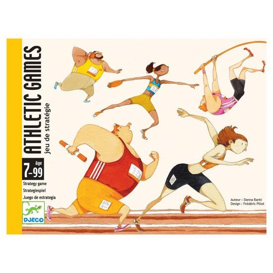Djeco Επιτραπέζιο καρτών 'Athletic games'