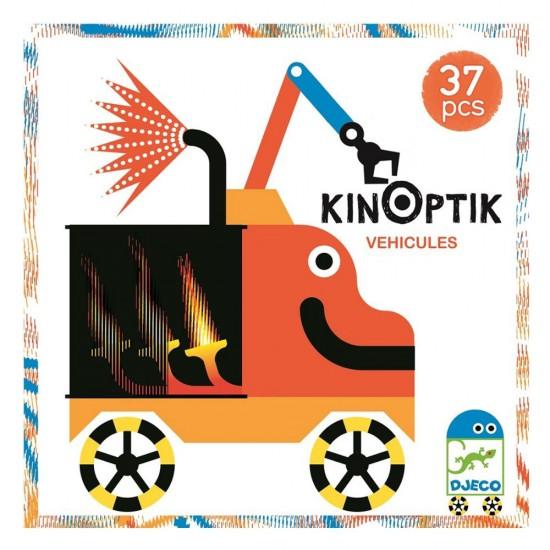 Djeco Kinoptik 'οχήματα' 38 τεμ