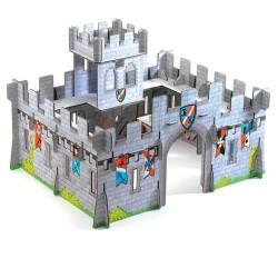 Djeco Τρισδιάστατο χάρτινο μεσαιωνικό κάστρο