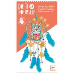 Djeco DIY Φτιάχνω Ονειροπαγίδα 'Κουκουβάγια'
