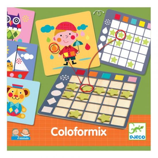 Djeco Coloformix εκπαιδευτικό παιχνίδι