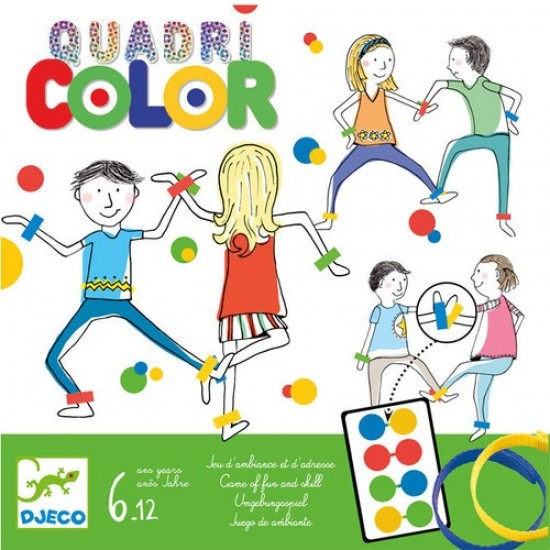 Djeco Επιτραπέζιο παιχνίδι 'Ο χορός χρωμάτων'