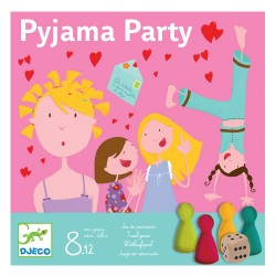 Djeco Επιτραπέζιο παιχνίδι 'Πιτζάμα πάρτυ'