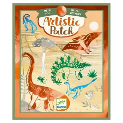 Djeco Artistic Κολάζ 'Μεταλλικό Δεινόσαυροι'
