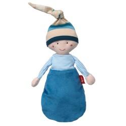 Sigikid Πάνινη Κούκλα Μωρό 'Μπλε'
