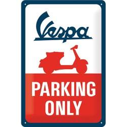 Nostalgic Μεταλλικός πίνακας Vespa - Parking Only