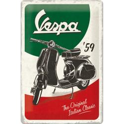 Nostalgic Μεταλλικός πίνακας Vespa - The Italian Classic