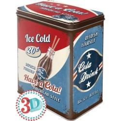 Nostalgic Μεταλλικό κουτί μεγάλο 'Have a Cola'
