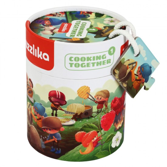 Cubika 3 Παζλ Εξέλιξης 'Φρούτα'