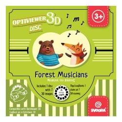 Svoora Δίσκος εικόνων 'Μουσικοί του Δάσους' για 3d Optiviewer