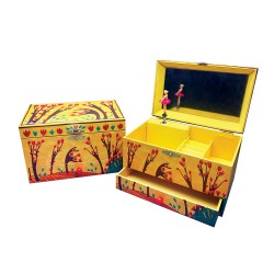 Svoora Μουσικό Κουτί Μπιζουτιέρα με Συρτάρι 'Χορός του Δάσους'