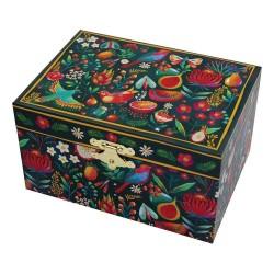 Svoora Μουσικό Κουτί Μπιζουτιέρα με Θήκη για Δαχτυλίδια 'Άνοιξη'