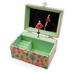 Svoora Μουσικό Κουτί Μπιζουτιέρα με Θήκη για Δαχτυλίδια 'Καλοκαίρι'