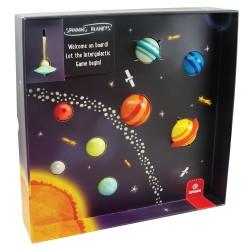 Svoora Επιτραπέζιο με Σβούρες – Πλανήτες 'Ταξίδι στο Ηλιακό μας...