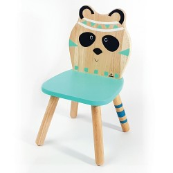 Svoora Παιδική Ξύλινη Καρέκλα Indianimals 'Πάντα' (Μασίφ Rubberwood)