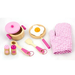 Viga Ξύλινα ροζ κουζινικά