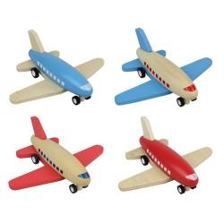 Zenit Ξύλινο αεροπλανάκι αυτοκούρδιστο P-Back (διαθέσιμο σε 4 διαφορετικά σχέδια)