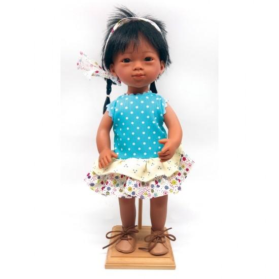 D'Nenes Κούκλα Βινυλίου 'Κινέζα' 34 εκ.