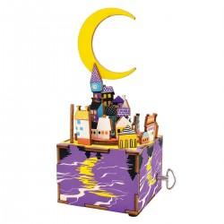 "Robotime 3D Ξύλινη Κατασκευή - Μουσικό Κουτί ""DIY Music Box - AM306 - Midsummer Night's Dream"""