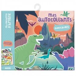 Auzou Τα αυτοκόλλητα μου - Δεινόσαυροι