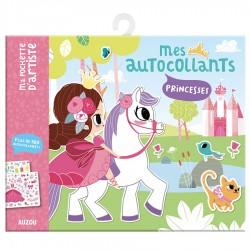Auzou Τα αυτοκόλλητα μου - Πριγκίπισσες
