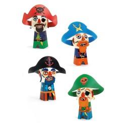 Djeco DIY Φτιάχνω - Μπαλόνια - Αστείοι Πειρατές