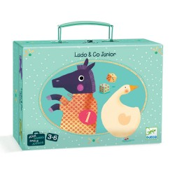 Djeco επιταπέζιο σε βαλίτσα - Γκρινιάρης και Χήνα