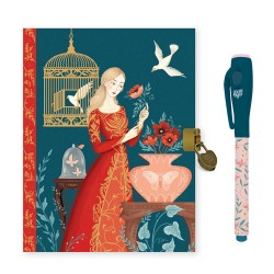 Djeco Ημερολόγιο με κλειδαριά και μαγικό μαρκαδόρο Lisa