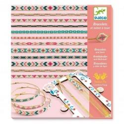 Djeco Κατασκευή κοσμημάτων - Βραχιόλια με μικρές χάντρες