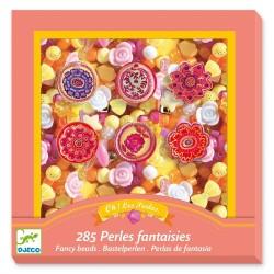 Djeco κατασκευή κοσμημάτων με διάφορες χάντρες - Λουλούδια