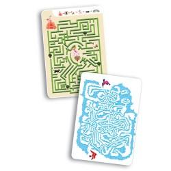 Djeco Μίνι σπαζοκεφαλιές 30 καρτών - λαβύρινθος της Αριάδνης