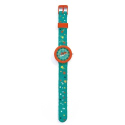 Djeco παιδικό ρολόι χειρός Σούπερ Ήρωας - ανθεκτικό BPA free